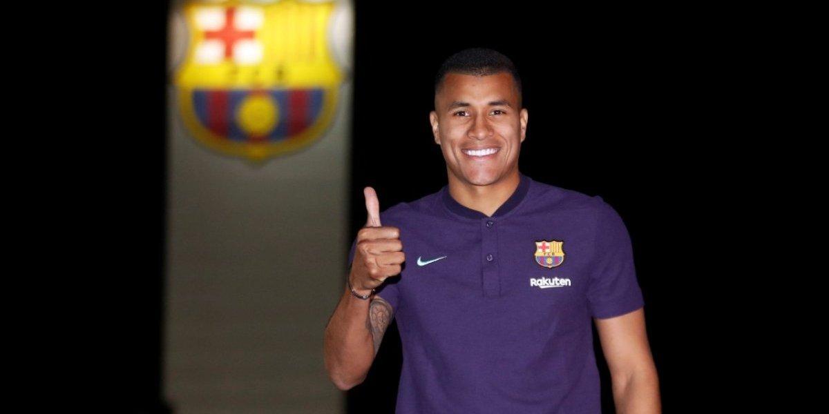Jeison Murillo es nuevo jugador del Barcelona