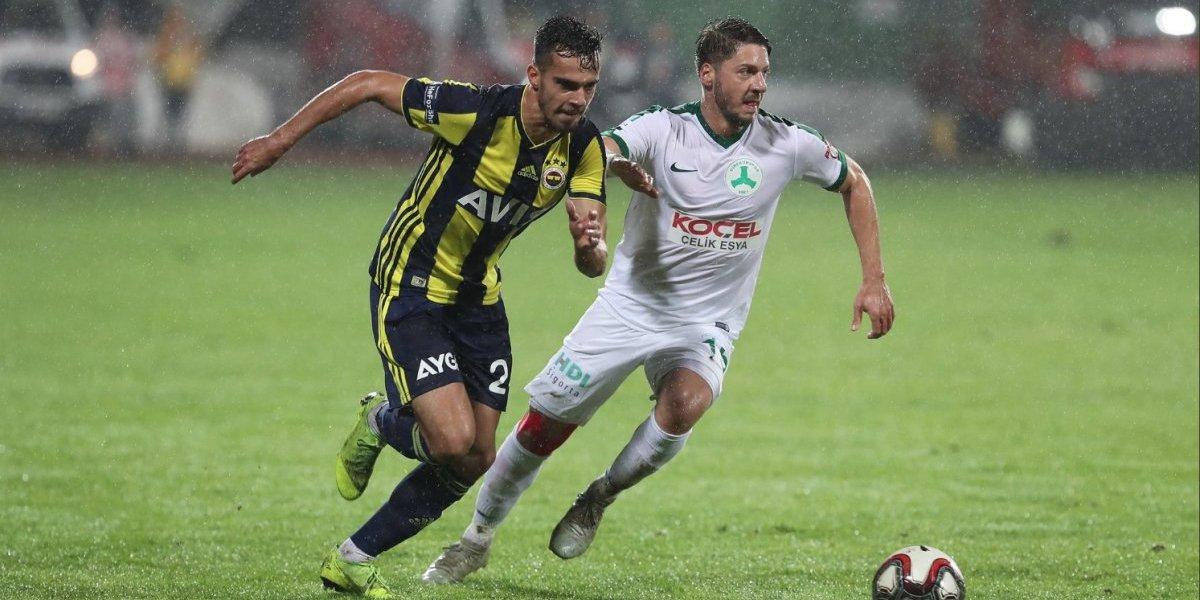 Diego Reyes colabora con un gol en la paliza del Fenerbahce al Giresunspor