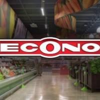 Supermercados Econo servirán como centros de vacunación