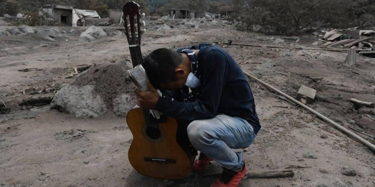 Revelan cifra de víctimas identificadas tras erupción del volcán de Fuego