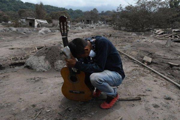 Han identificado a 198 víctimas de la erupción del volcán de Fuego