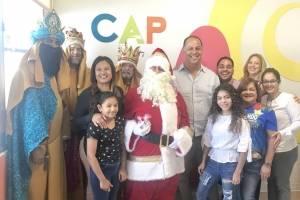 Santa Claus y Los Reyes