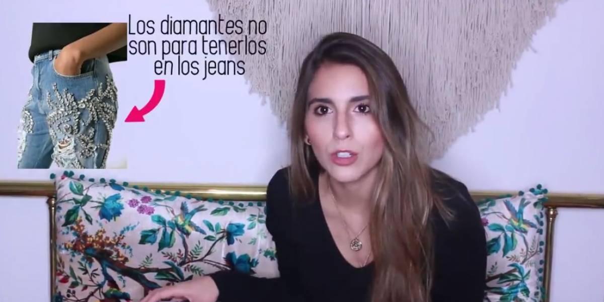 Andrea Marmolejo, la youtuber colombiana que gana rechazo por hablar de las 'guisas'