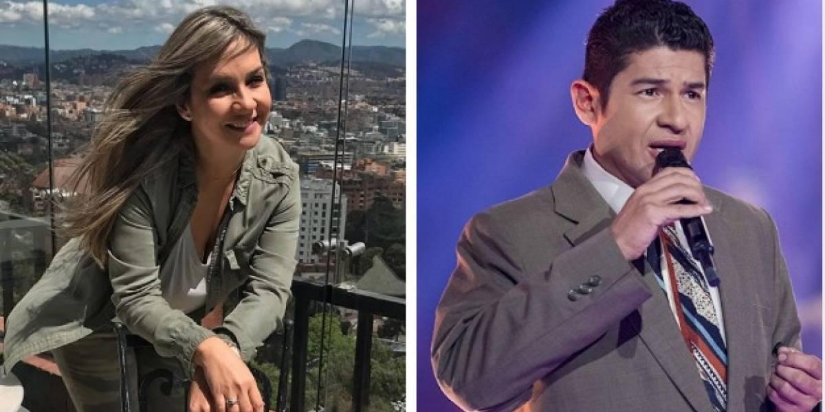 Coqueteo entre Vicky Dávila y Julio Jaramillo de 'Yo me llamo' fue para risas