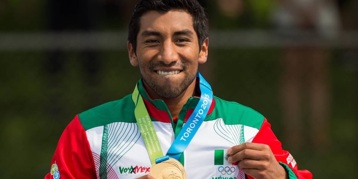 """""""Estoy contento y agradecido con el Triatlón"""": Crisanto Grajales"""