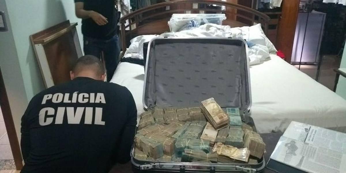 Polícia apreende novamente dinheiro em casa de João de Deus
