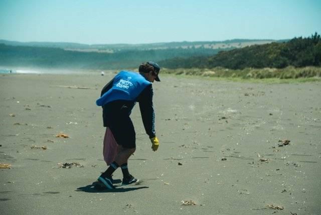 plásticos playa