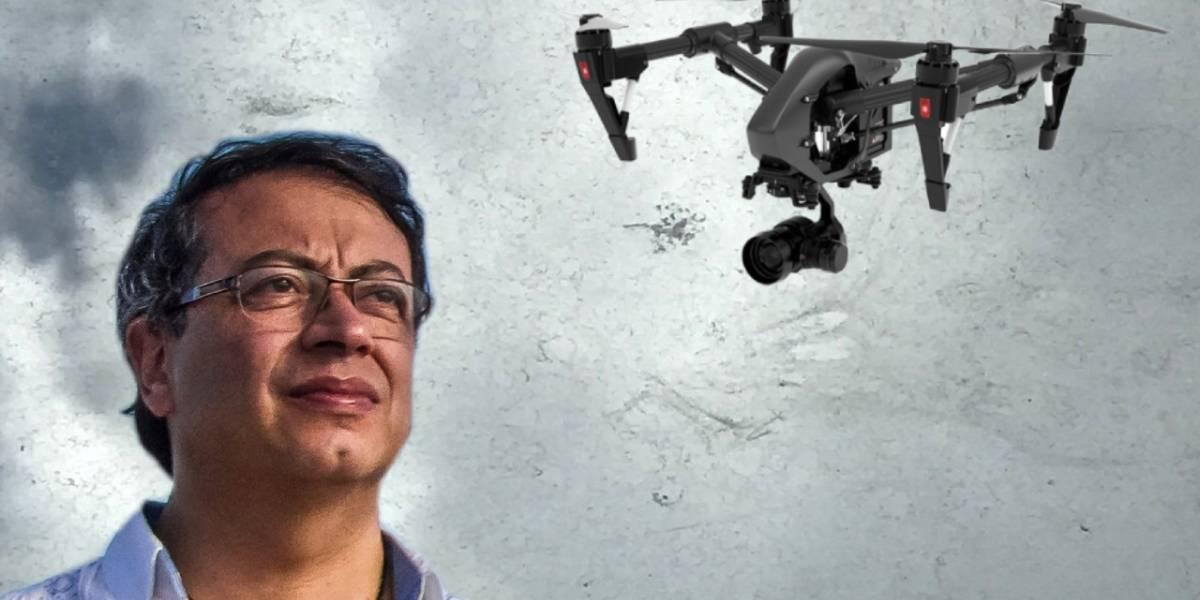 Colombia: Gustavo Petro denuncia que lo están persiguiendo con un supuesto dron que nadie ha podido ver