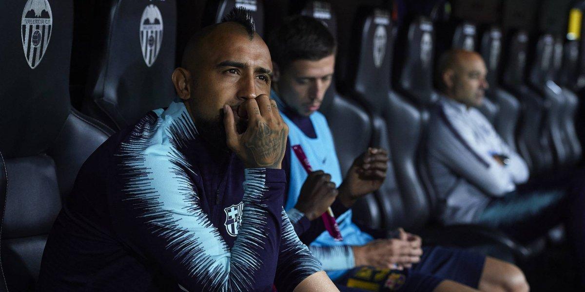 Arturo Vidal llegó a sentirse 'molesto' a su llegada al Barcelona