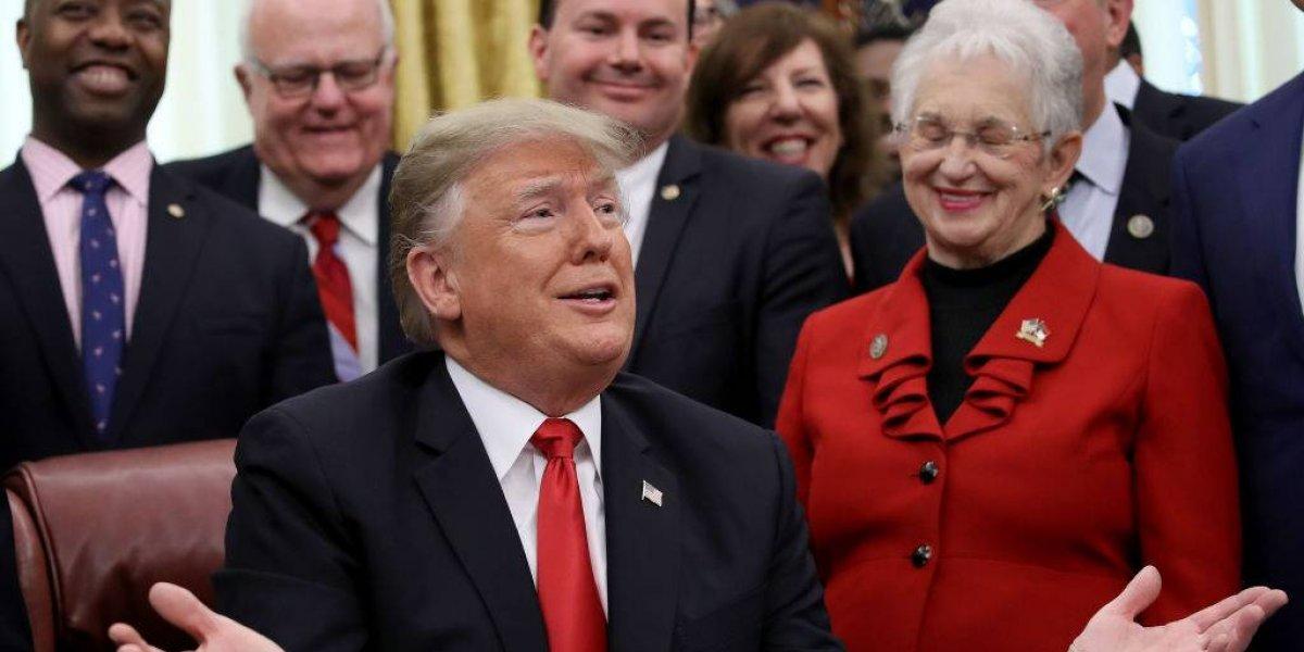 """Trump amenaza con """"gran"""" cierre de Gobierno si no hay fondos para el muro"""