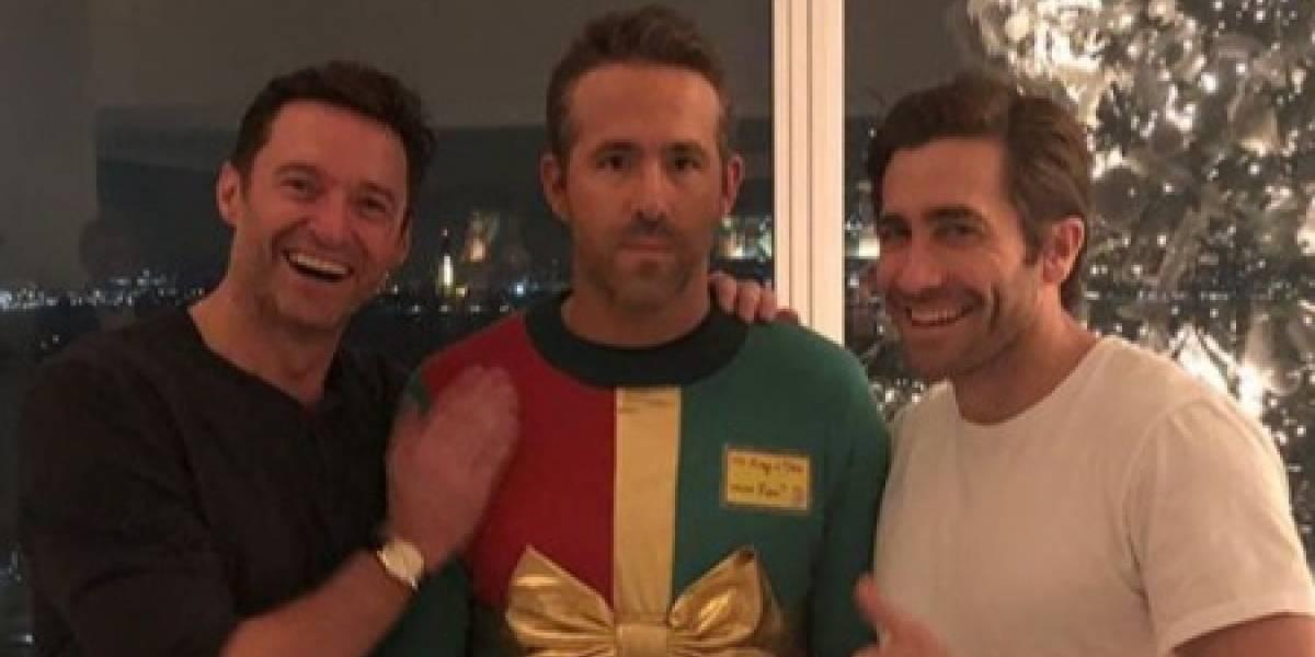 Ryan Reynolds cai em pegadinha e vira chacota de Hugh Jackman e Jake Gyllenhaal
