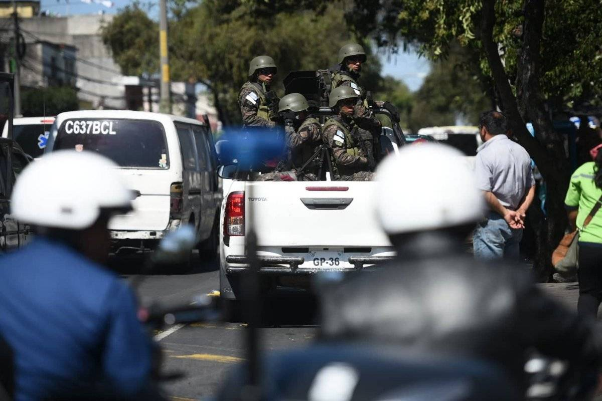 La SAAS se encarga de la seguridad del presidente Jimmy Morales, entre otros aspectos. Foto: Alejandro García