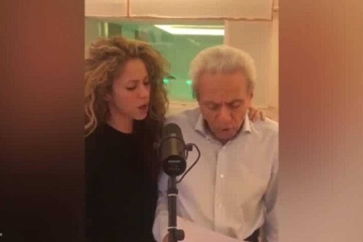 ¡Para derretirse! El conmovedor video de Shakira juntos a su papá