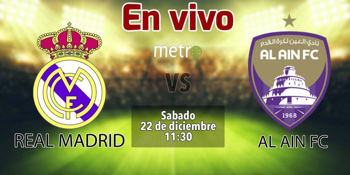 Mundial de Clubes: Real Madrid vs Al Ain EN VIVO, dónde ver el partido, canales de transmisión y alineaciones