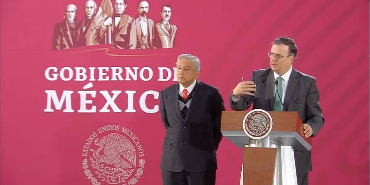 México no será tercer país seguro para migrantes: Ebrard
