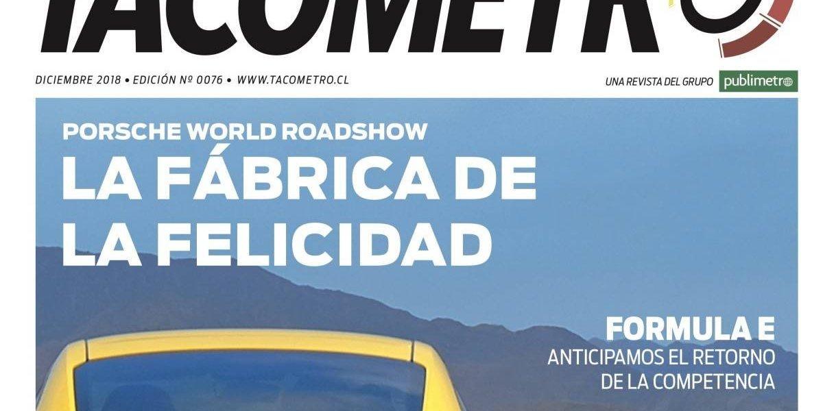 Pista libre para la nueva revista Tacómetro de diciembre