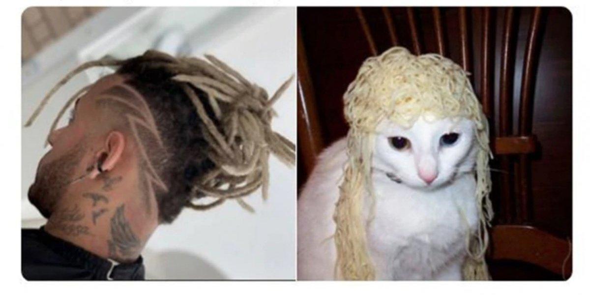 Los mejores memes del cambio de look de Neymar