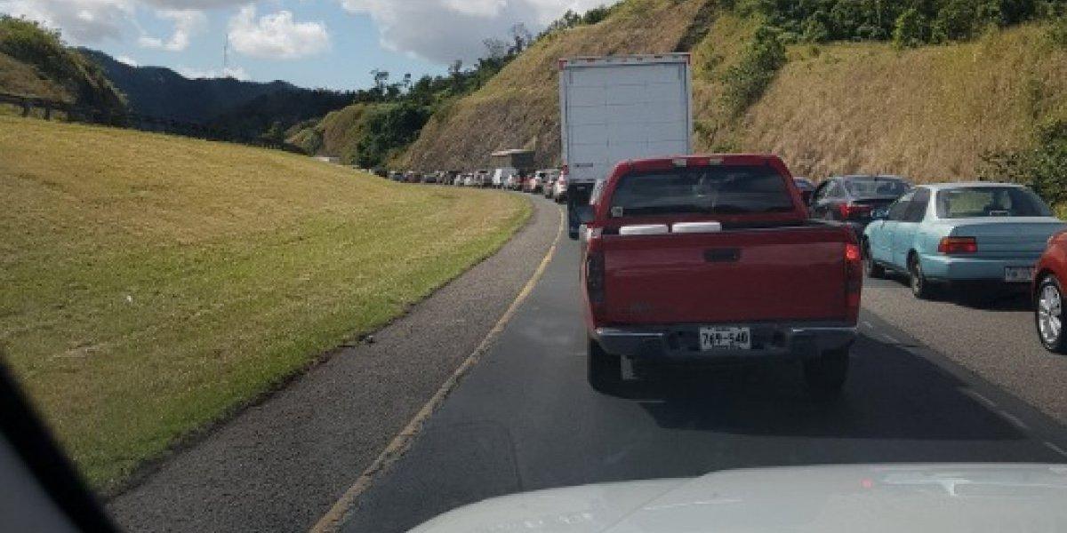 Reabren tránsito en la carretera PR-52 de Cayey a Guayama
