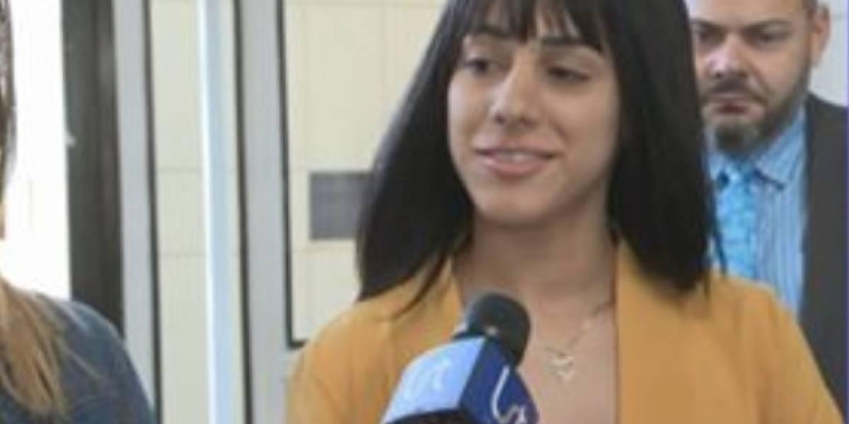 Reacciona mujer que Andrea de Castro asegura la agredió