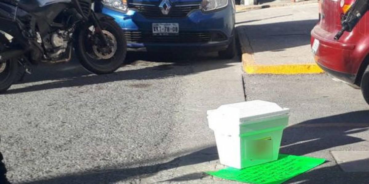 Dejan cabeza humana frente a oficinas de periódico en Tamaulipas