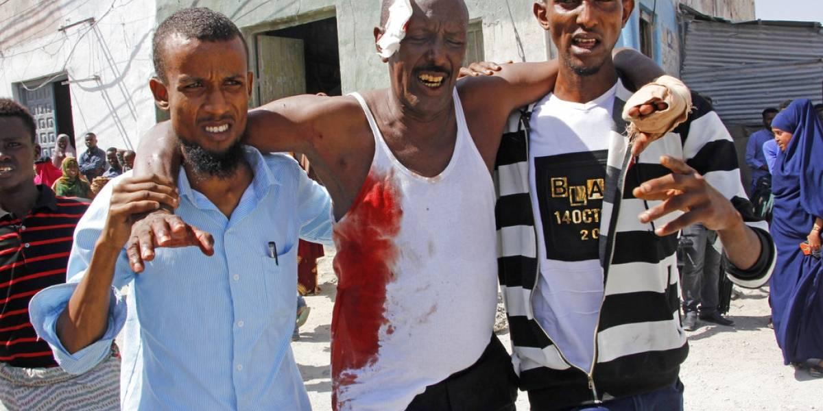 Doble atentado deja al menos siete muertos en Somalia