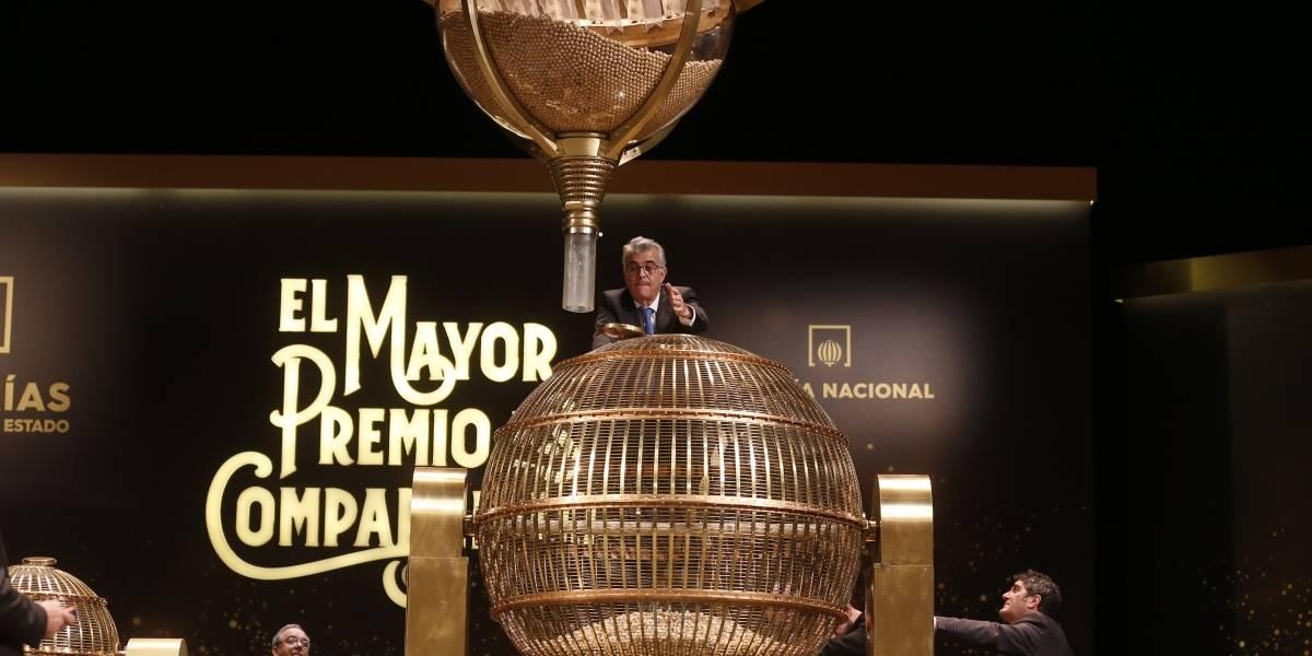"""España rifa 2 mil 400 millones de Euros en """"El Gordo"""", lotería de Navidad"""