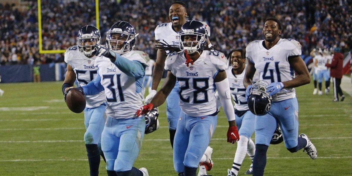 Titans vence a Redskins y se acerca a los Playoffs