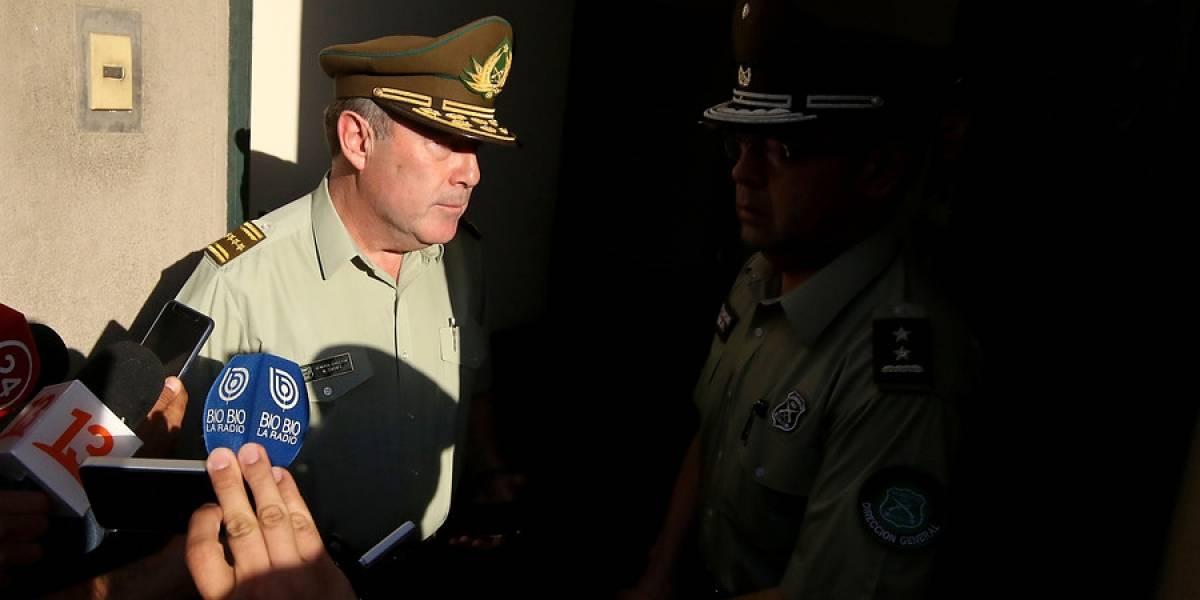 """Diario oficial publica formalmente el """"retiro absoluto"""" de Hermes Soto como general director de Carabineros"""