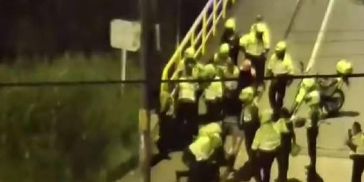¡Increíble persecución! Ladrones huyen en carro que se robaron y son atrapados