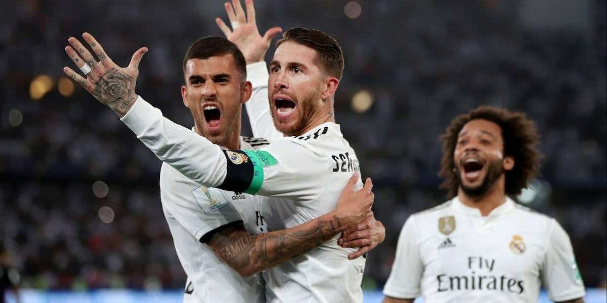 ¡Caminando, llegó el tercero consecutivo! Real Madrid se coronó campeón del Mundial de Clubes
