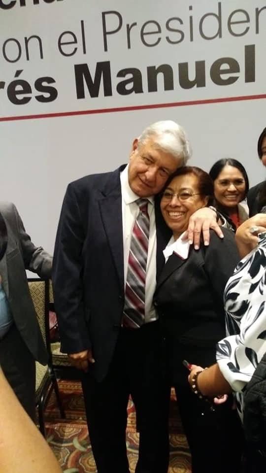 Angelica Garcia Arrieta, senadora de Morena Foto: Twitter @GarciaArrietaMX
