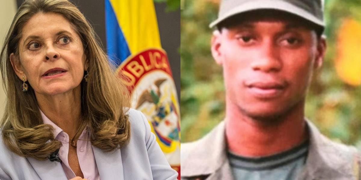 La contundente promesa de Marta Lucía Ramírez tras la muerte de 'Guacho'