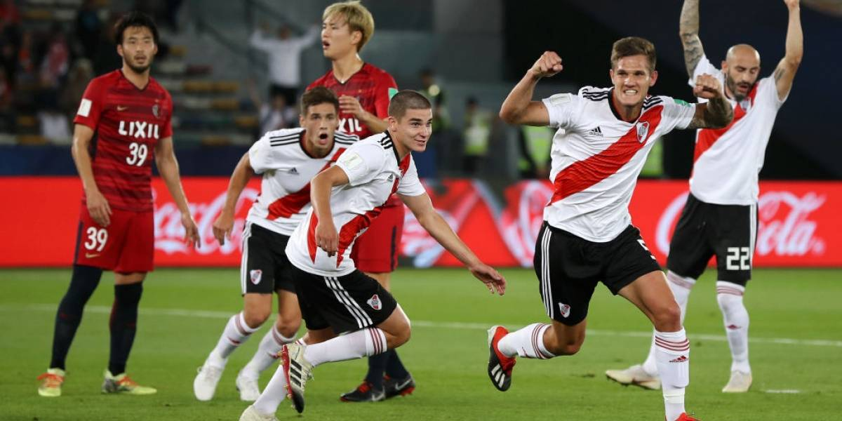 River Plate goleó al Kashima Antlers y remató tercero en el Mundial de Clubes