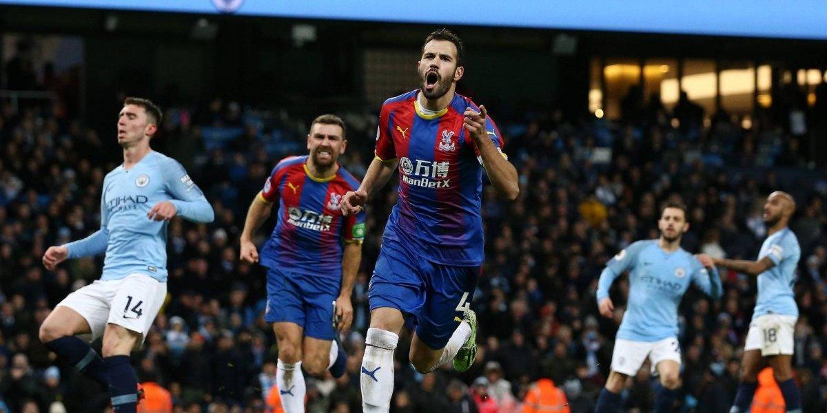 Crystal Palace sorprende de visita al Manchester City