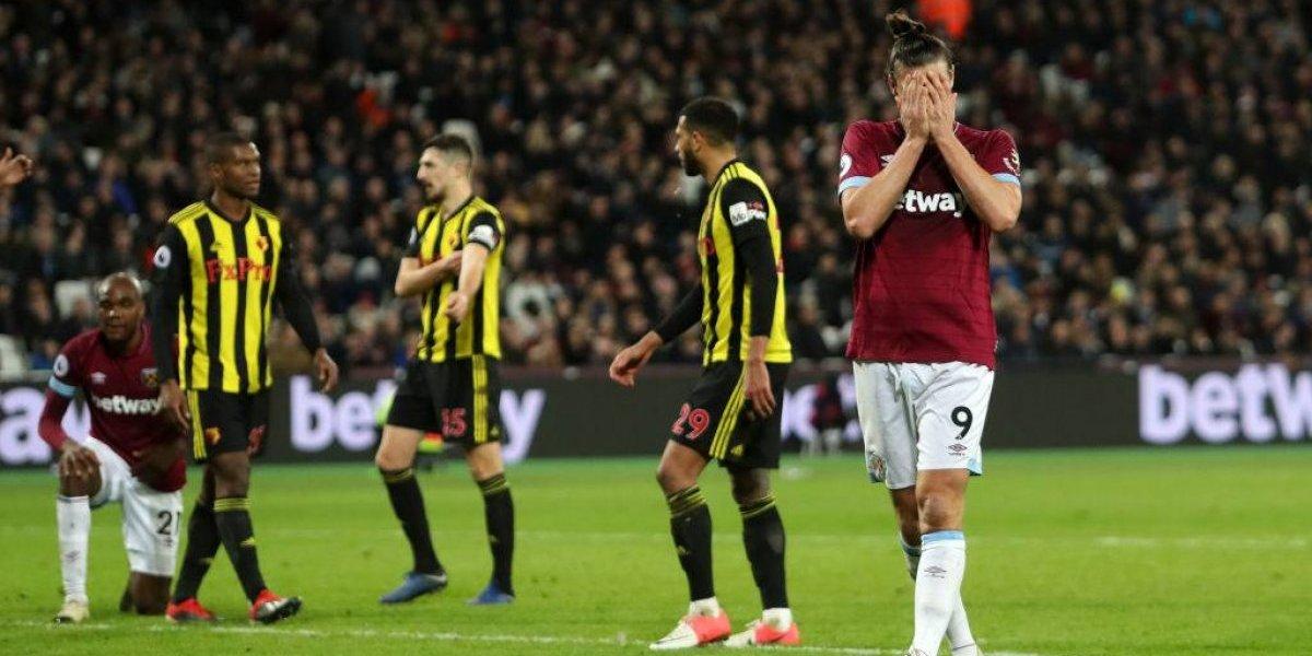 West Ham cortó racha de triunfos tras sorpresiva caída de local ante Watford