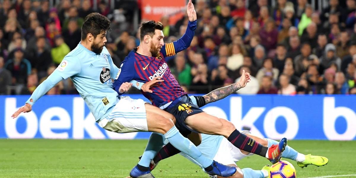 Barça cierra el año con triunfo sobre el Celta de Araujo