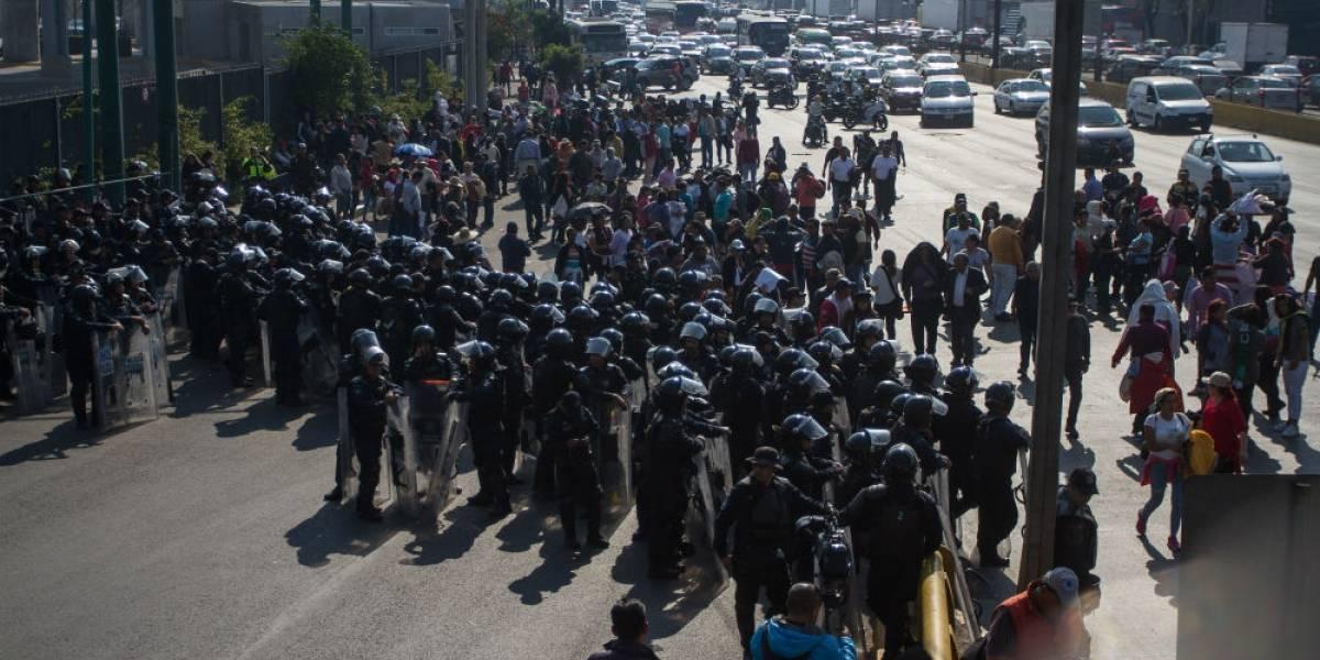 Alcaldes perredistas colapsan la CDMX como protesta contra el presupuesto