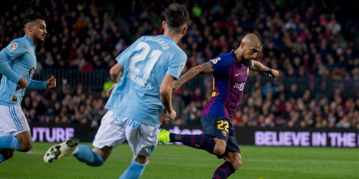 """La prensa española se rinde ante Vidal: """"Se ha ganado el cariño del Camp Nou con su empuje y corazón"""""""