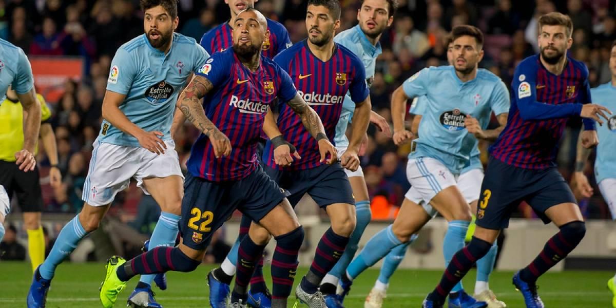 "Ernesto Valverde le tira flores a Vidal: ""Arturo hizo un excelente partido en todos los aspectos"""