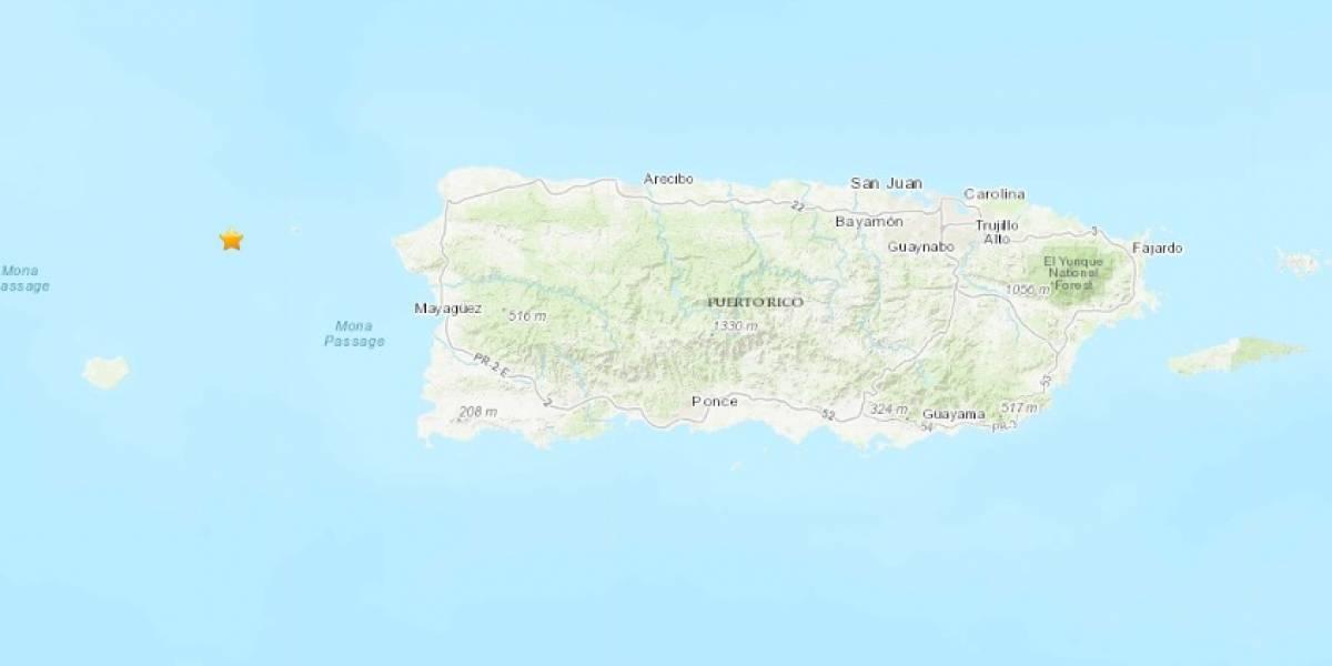Registran sismo de magnitud 4.2 en costa de Rincón