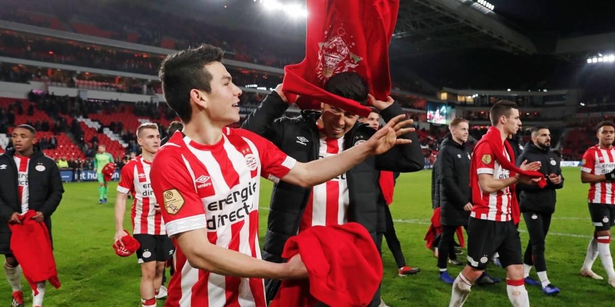 Chucky Lozano se despide del 2018 con gol y triunfo del PSV