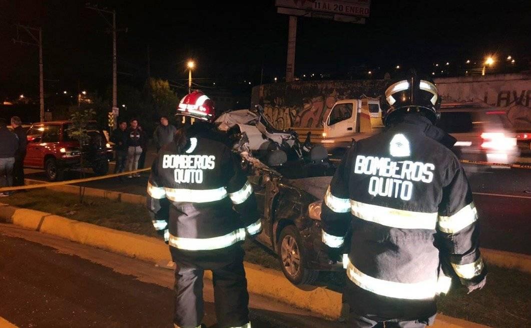 3 decesos deja accidente en General Rumiñahui