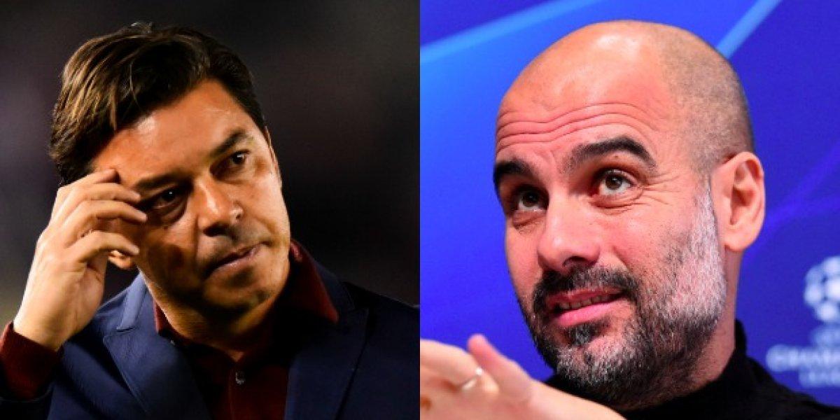 Pep Guardiola y Marcelo Gallardo habrían rechazado el banquillo de la Selección Argentina