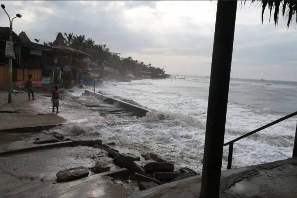Oleaje en Ecuador: Esta es la condición de las playas hoy, 24 de diciembre del 2018