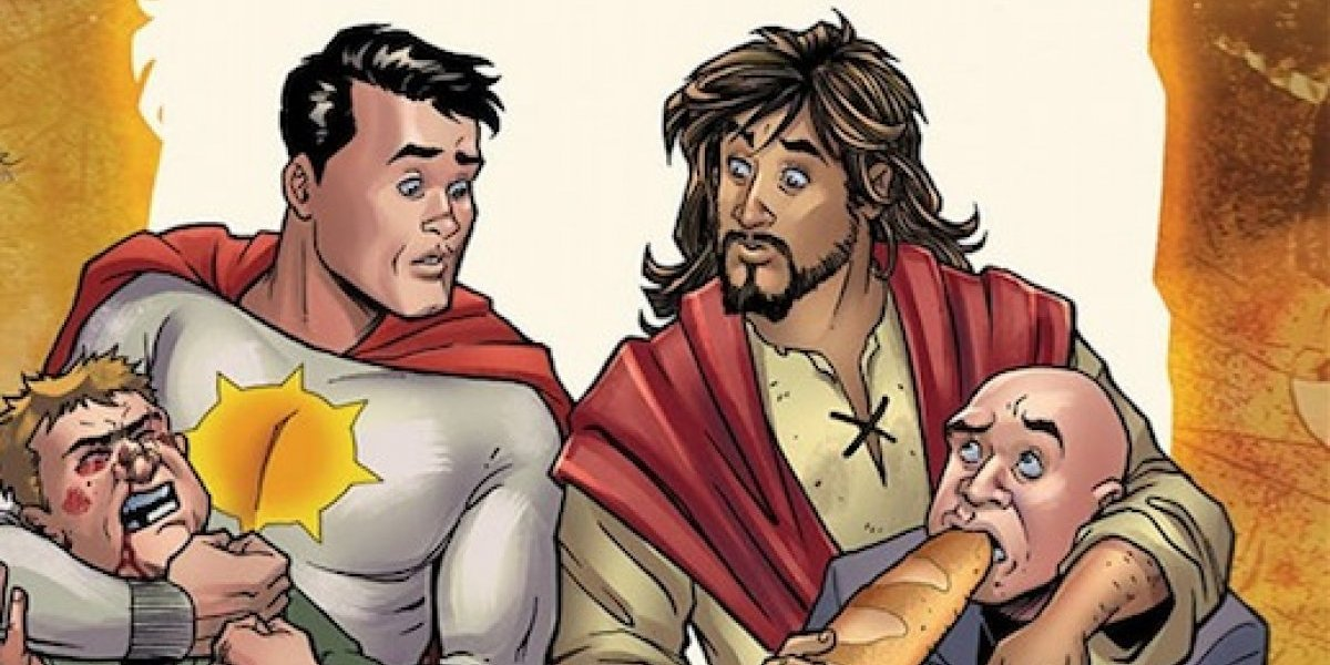 Jesucristo es el nuevo superhéroe de DC Comics