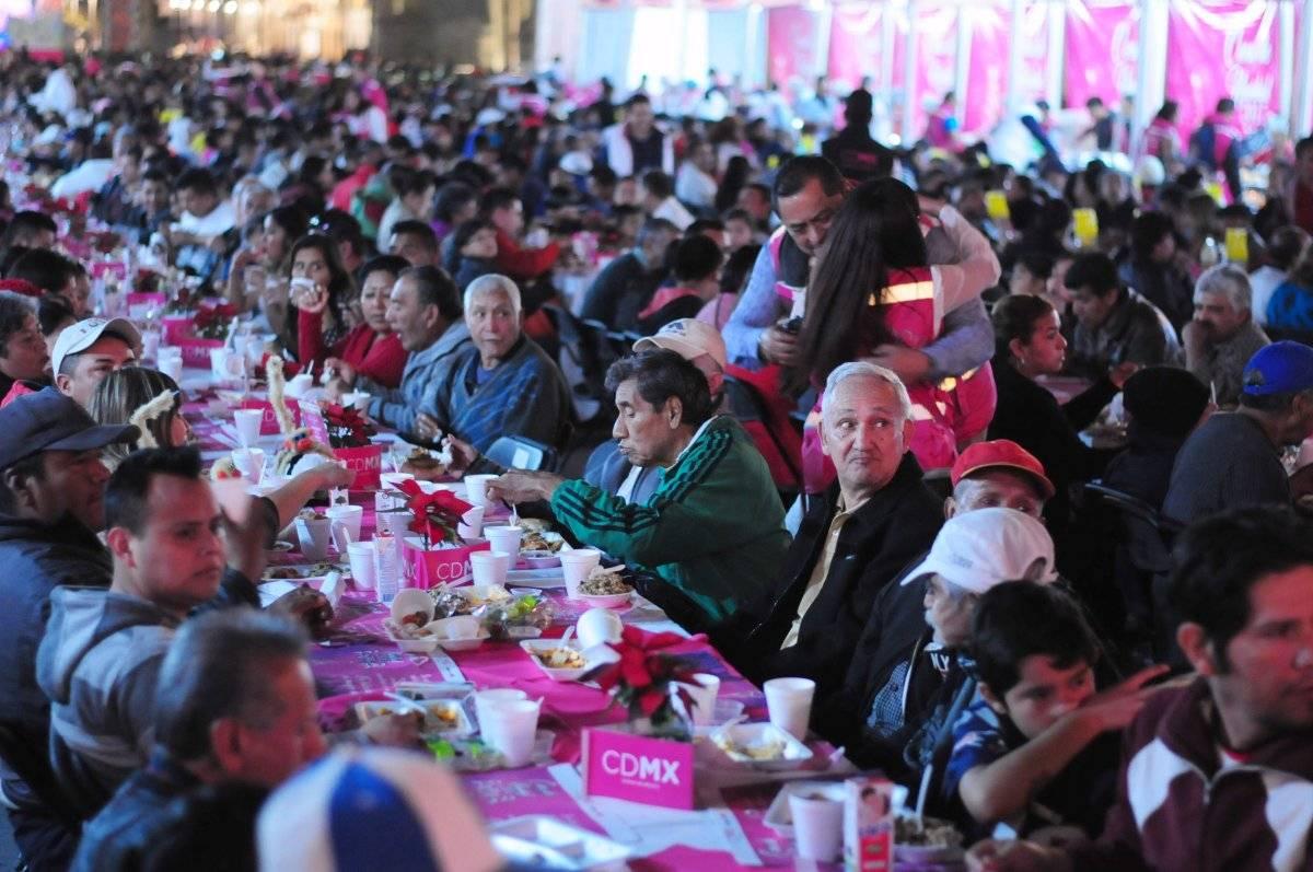 Ya no habrá cena en el Zócalo. Foto: Cuartoscuro
