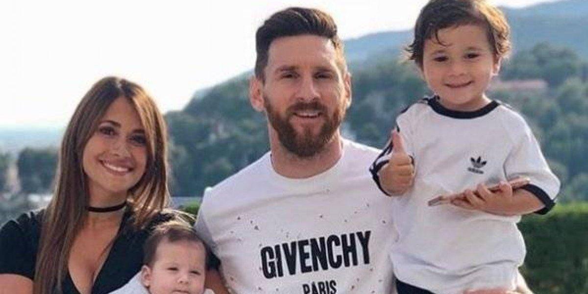 Messi llegó a Argentina para celebrar las fechas decembrinas en familia