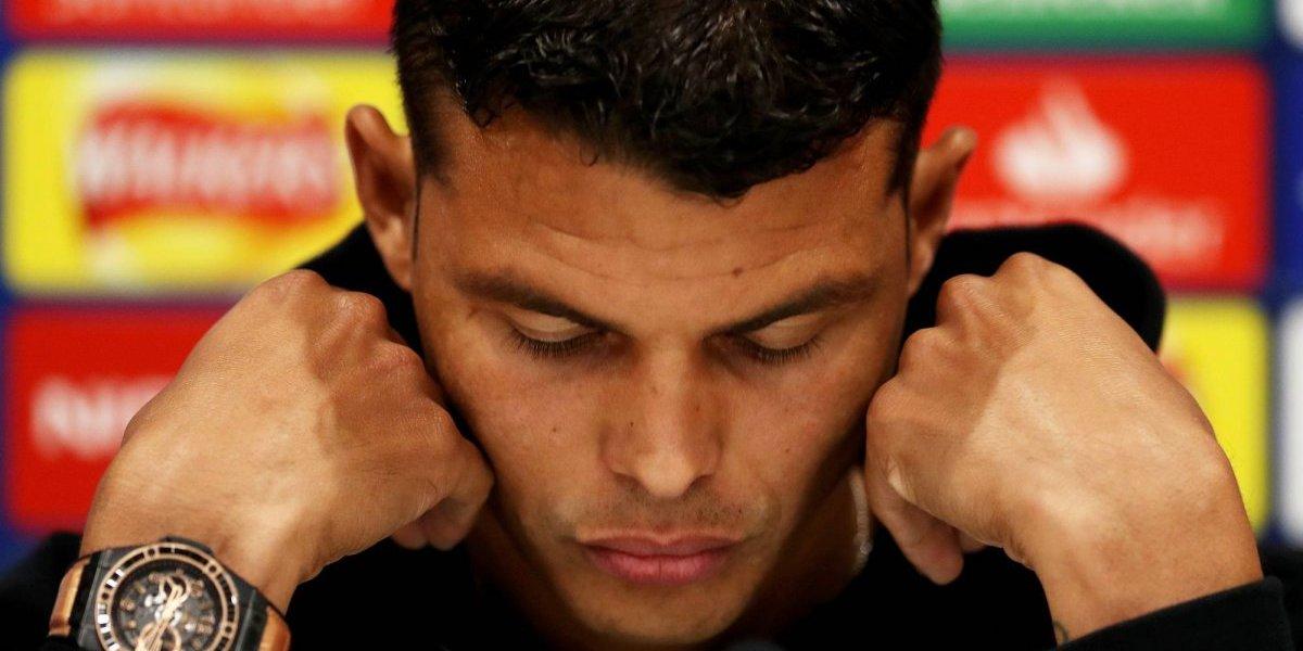 Saquean casa de Thiago Silva; ladrones roban botín con millones de euros
