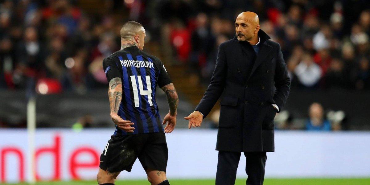 Radja Nainggolan, suspendido por el Inter de Milán