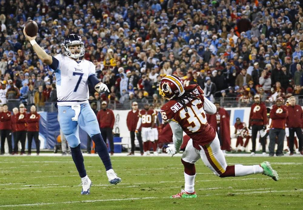 Redskins 16-25 Titans / Getty Images